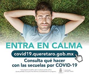 COVID 19 ENTRA EN CALMA SECUELAS