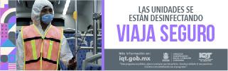 MEDIDAS EN EL TRANSPORTE PUBLICO DESINFECTAR